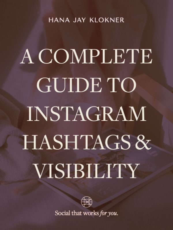 A Complete Guide to Instagram Hashtags & Visibility (PDF Guide)